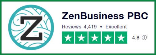ZenBusiness PBC: TrustPilot Reviews